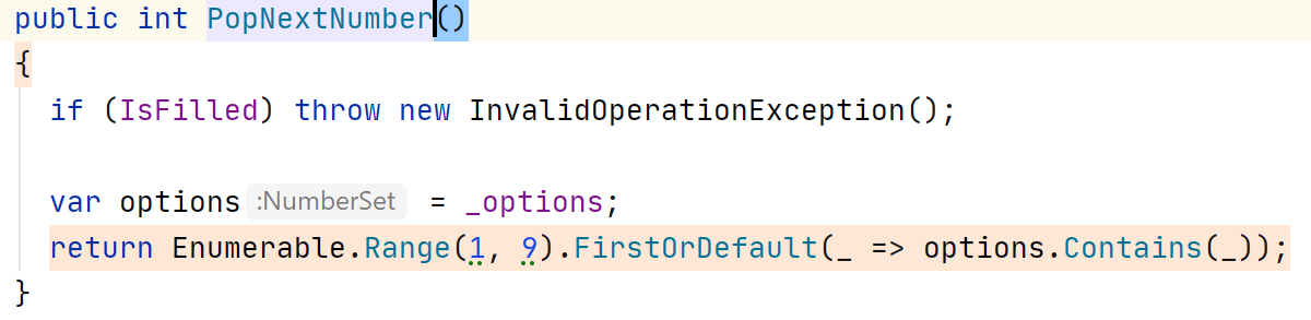 DPA. Highlighted line of code