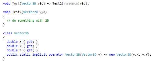 ReSharper: Type conversion hints