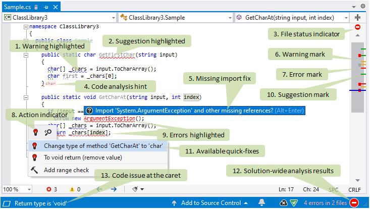 ReSharper: Design-time code inspection