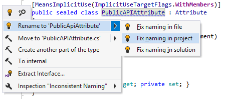 Fixing naming style violations