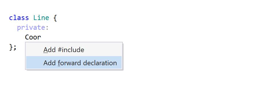 ReSharper C++: code completion for an import item
