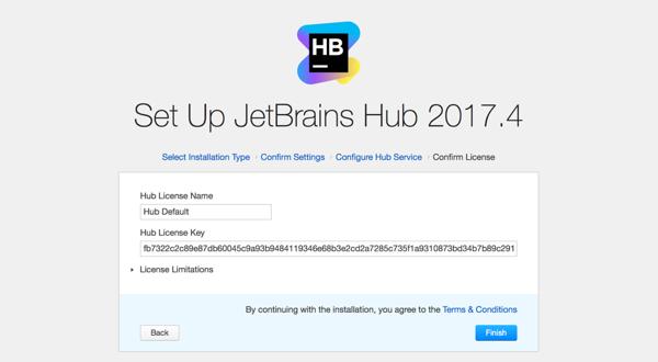hub install license