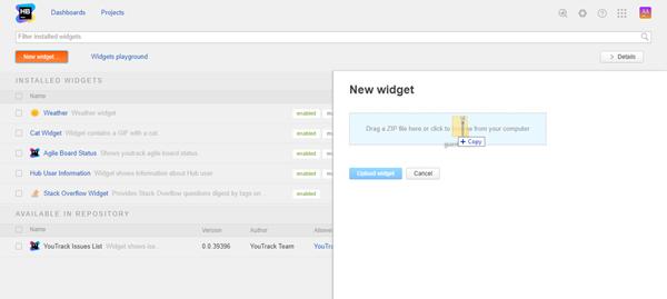 new custom widget