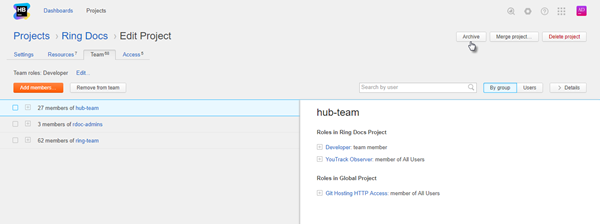 archive hub project