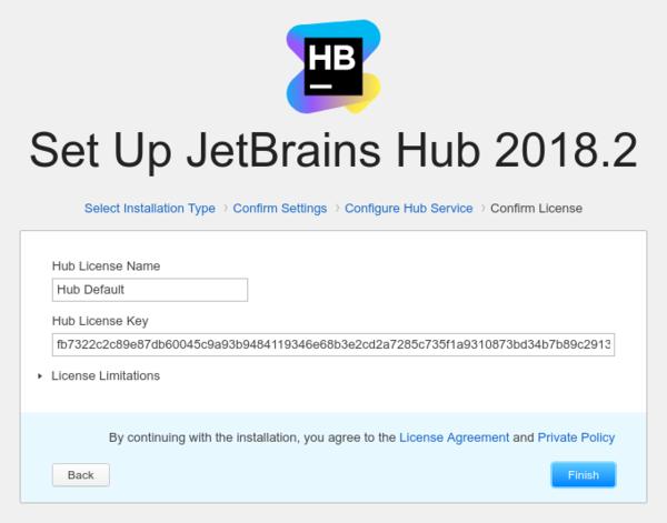 install http license
