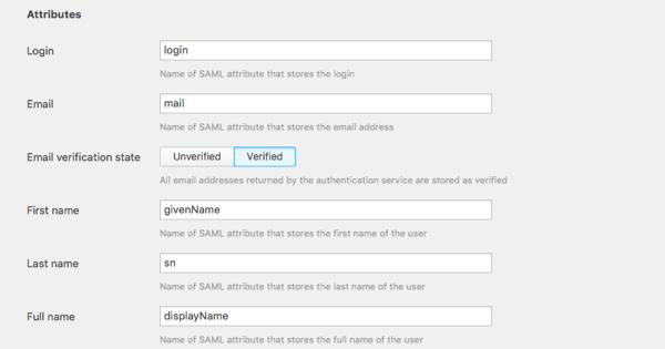 saml hub hub module attributes