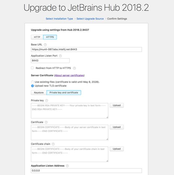 zip upgrade https new cert confirm