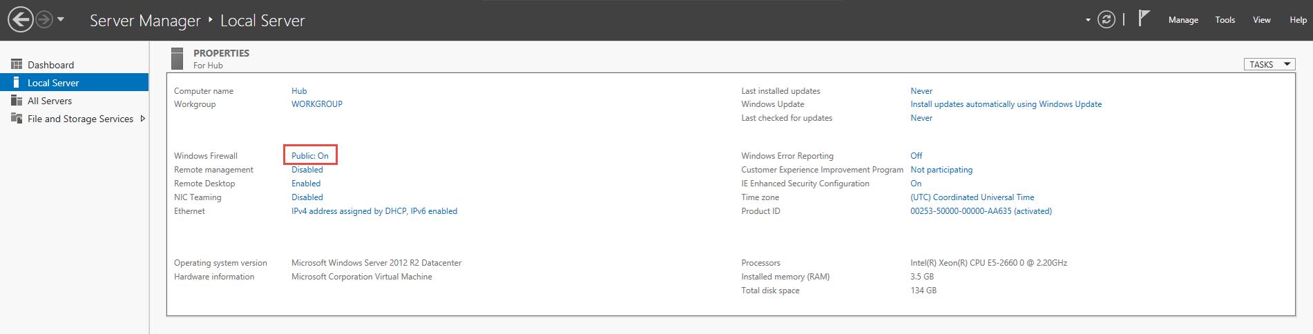 Host a Hub Instance on Microsoft Azure - Help   Hub