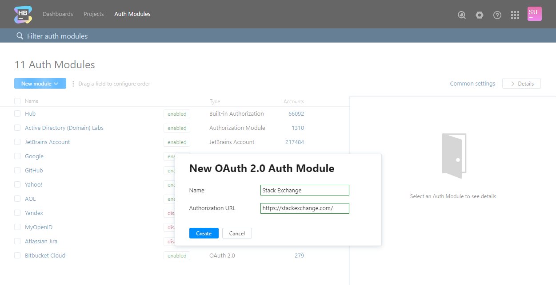 OAuth 2 0 Auth Module - Help   Hub