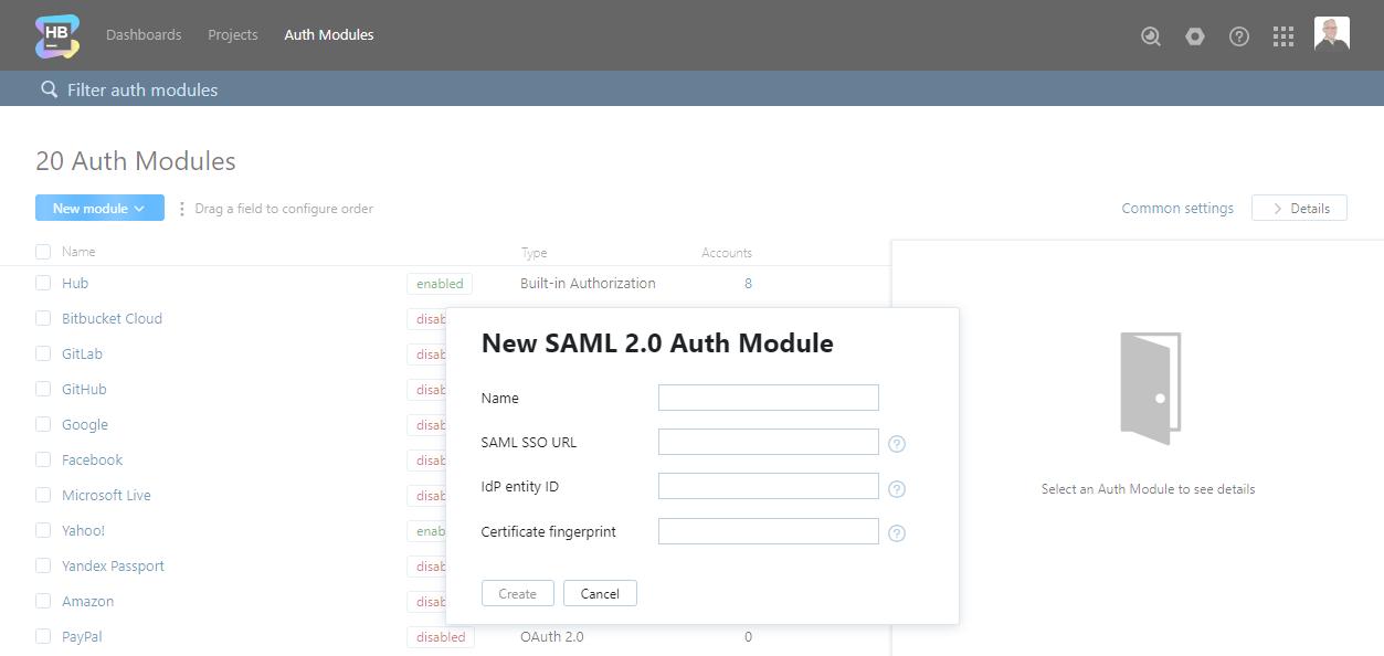 SAML 2 0 Auth Module - Help   Hub