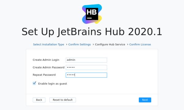 Install http admin