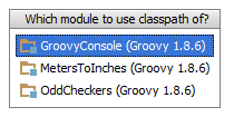 Groovy_Module_Console