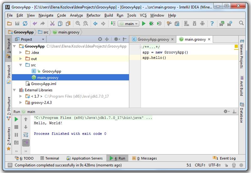 groovy_script_running