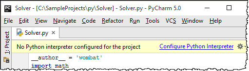 py_project_interpreter