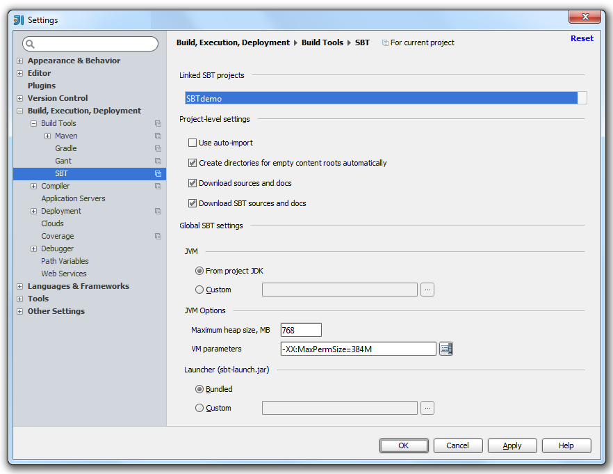 sbt_project_settings