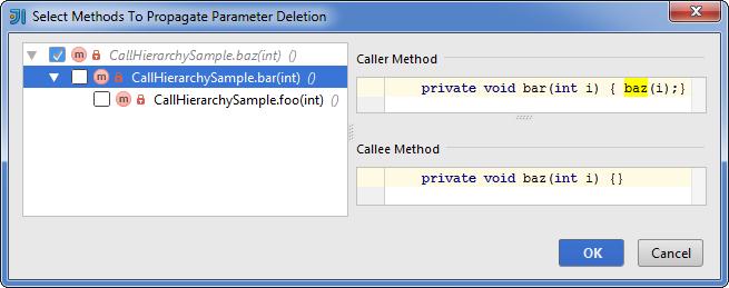 SelectMethodsToPropagateParameterDeletion