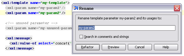 Rename Variable