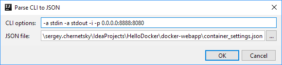 66 DockerCLIToJSON