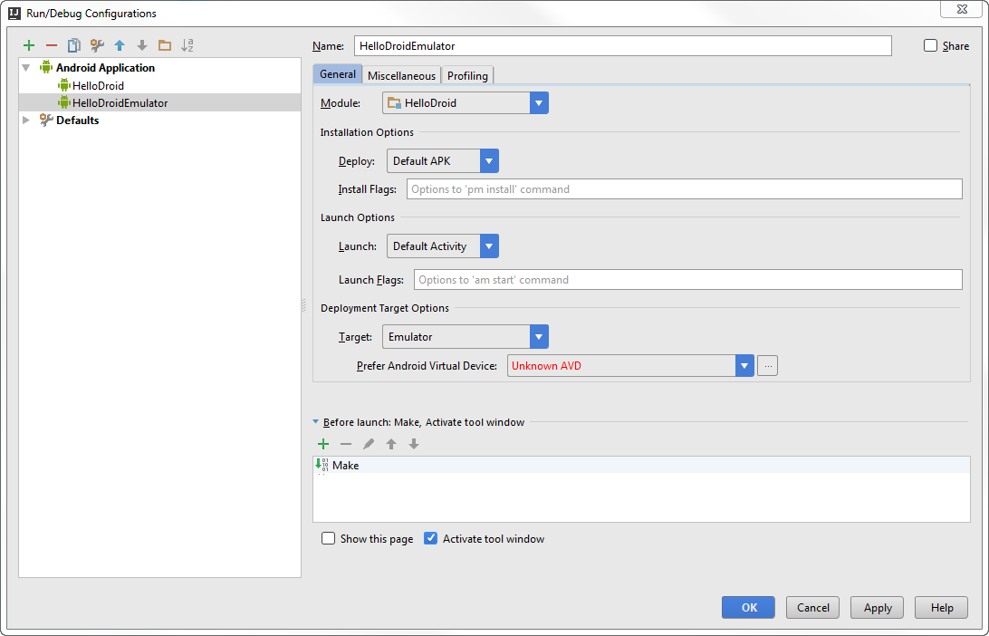 Android new build config step3