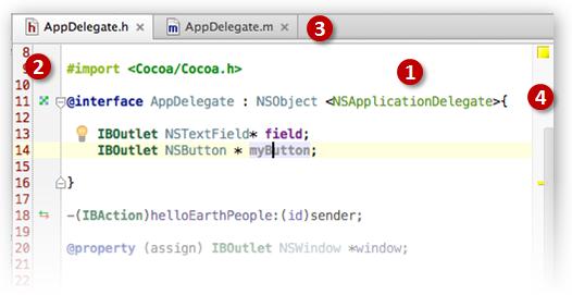 AppCode editor