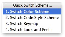 Quick Switch Scheme