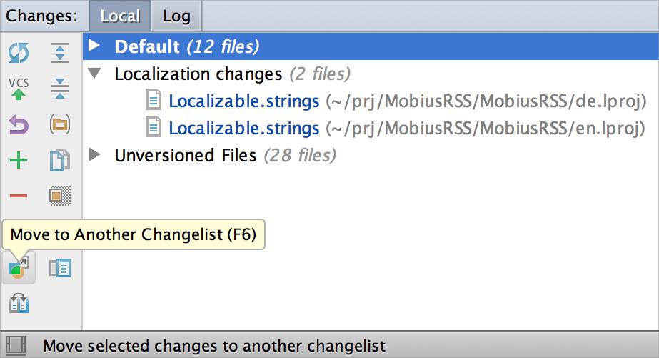 AppCode Changelist