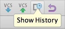 AppCode VCS Toolbar
