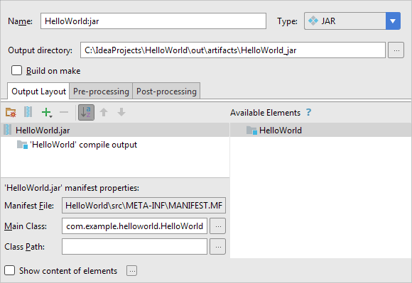 HWJ042ArtifactSettings