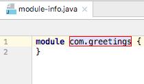 Jigsaw module name