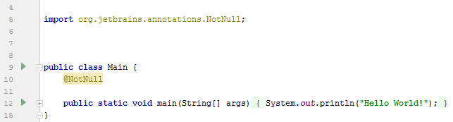 annotations NotNull result