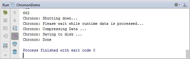 chronon run tool window