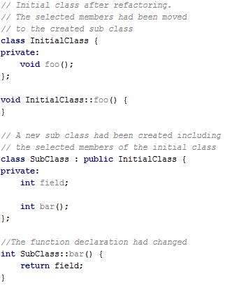 cl extractSubclassAfter