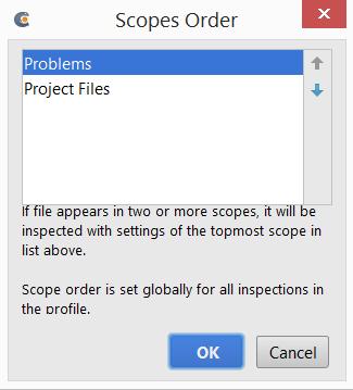 cl scopesOrder