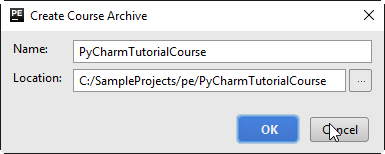 create course archive