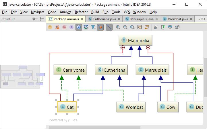 Diagram Preview - Help | IntelliJ IDEA