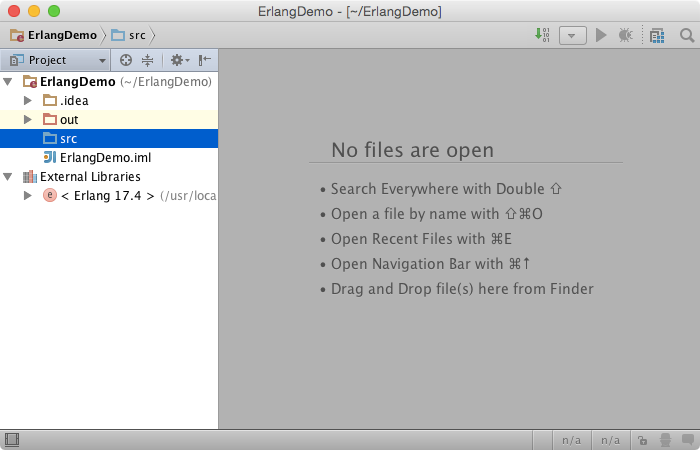 erlang project