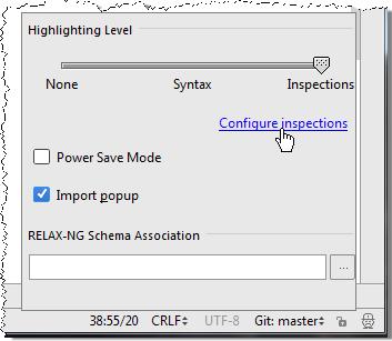 ij configureInspections