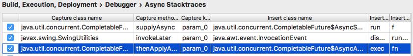 ij debugging async capture