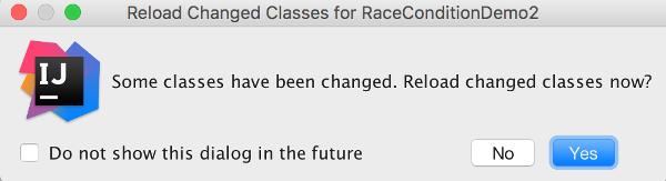 Reload classes?