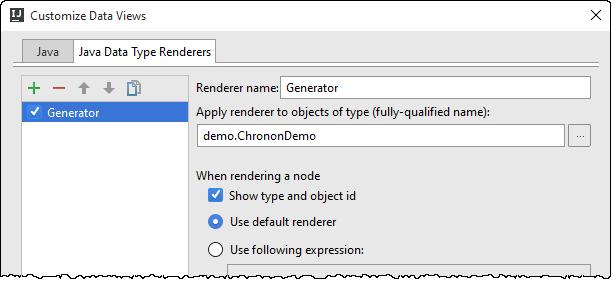 ij type renderer