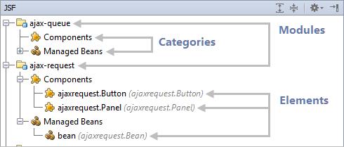 jsf tool window