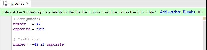 py nodejs coffeescript watcher