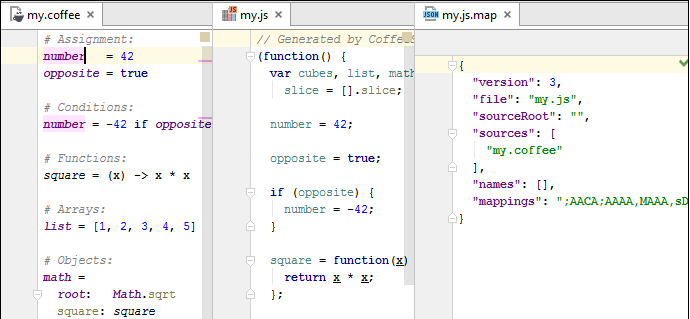 py nodejs coffeescript watcher edit
