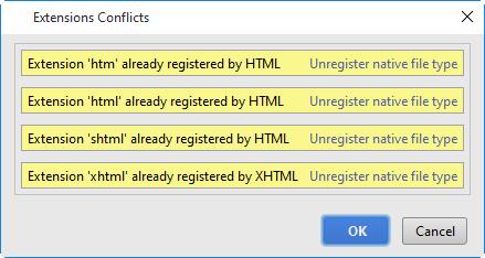 py textmatebundles import extension conflicts