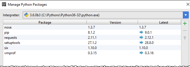 python manage packages