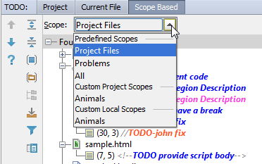scope based todo