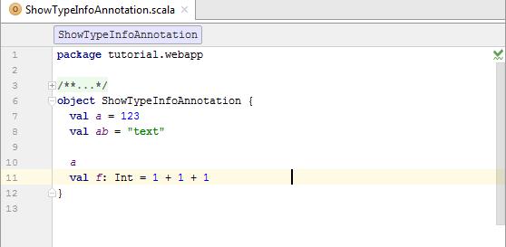 type info code