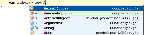 web ide completion settings first letter