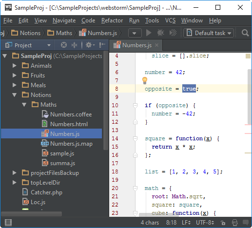 ws editor settings vs scheme