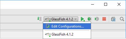 how to make java application run intellij